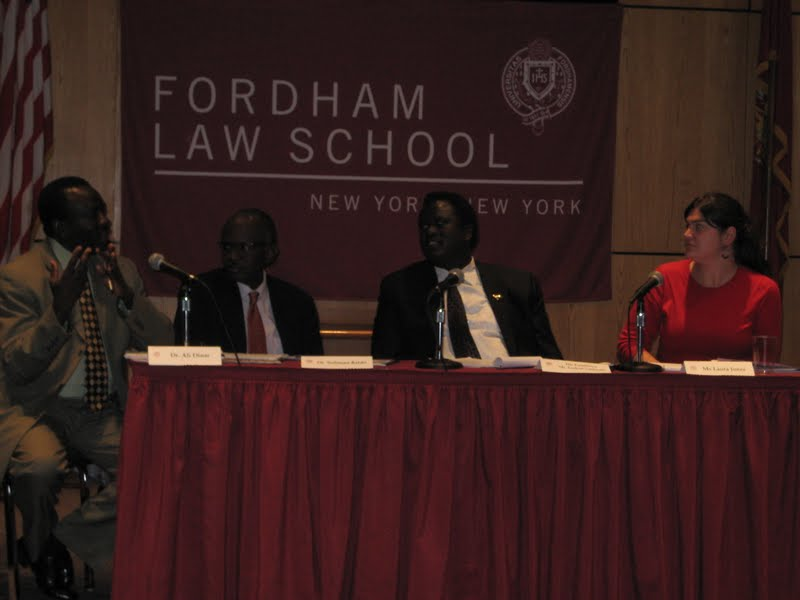 Conference at Law School Considers Sudan's Post-Referendum Challenges, Policy Options