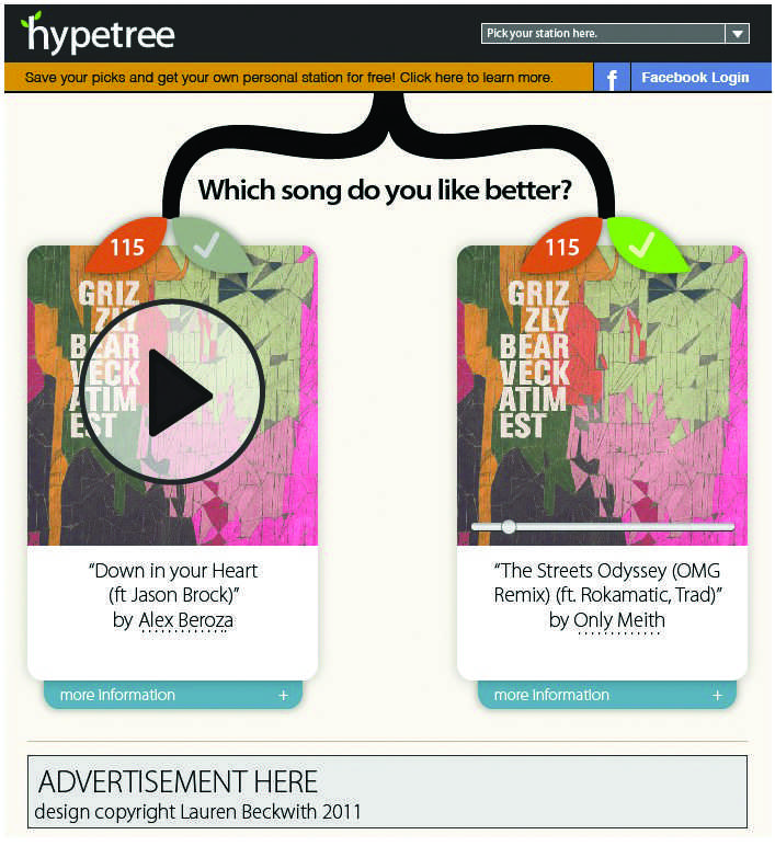 Hypetree+is+being+called+%E2%80%9Cthe+democratic+music+site%2C%E2%80%9D+allowing+the+user+to+discover+new+and+upcoming+artists.+%28Hypetree+photo%2Fcourtesy+of+Alex+Mitchell%29