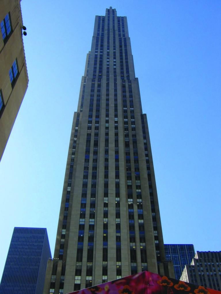 A party atop Rockefeller Center would make for a memorable senior week. (Urban/Wikicommons)