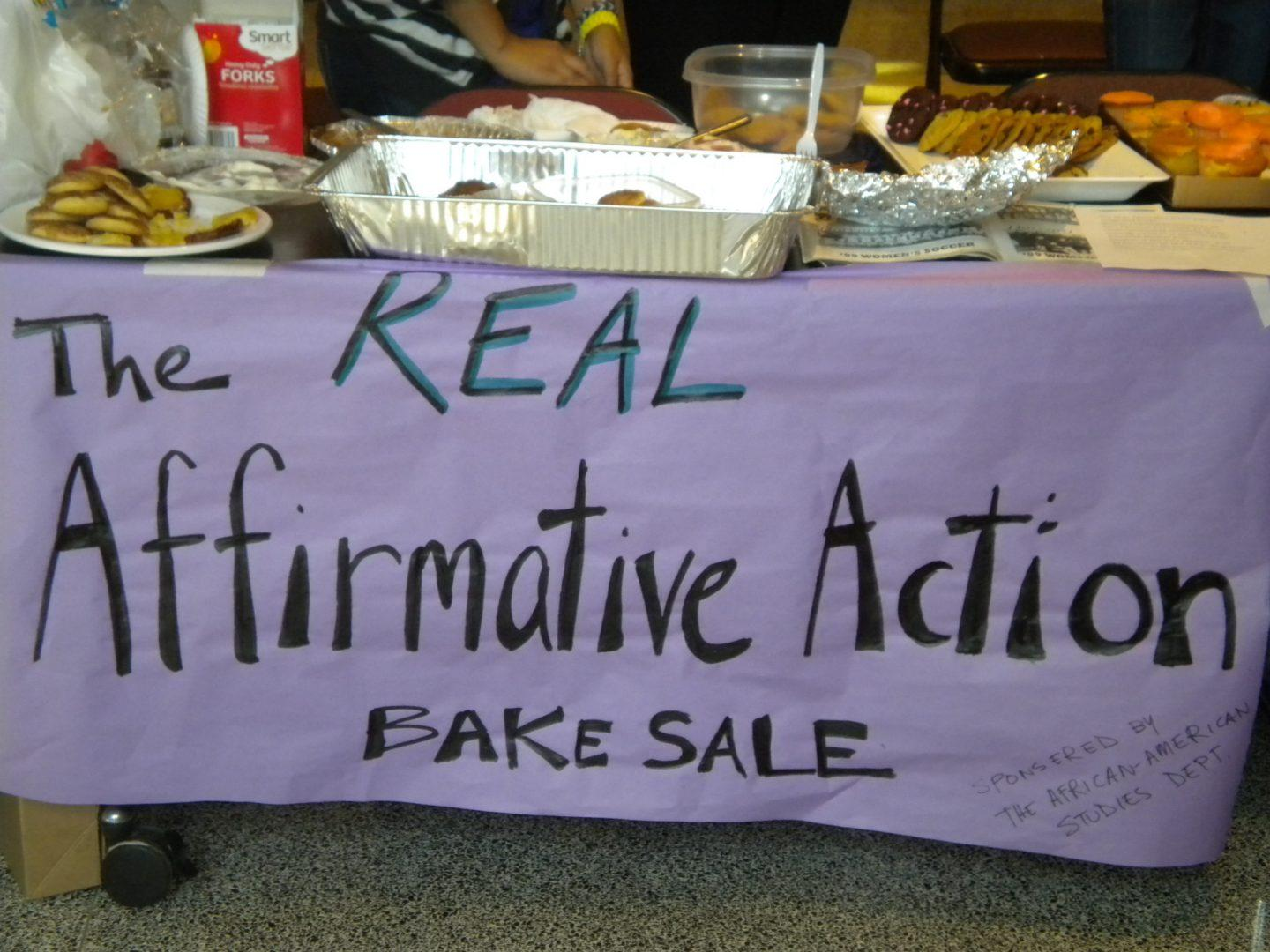 Bake Sale Held at Fordham to Educate Students on Real Affirmative Action