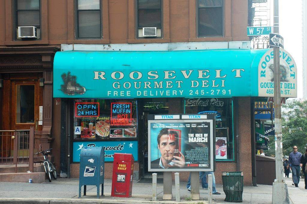 Open for 24 hours Roosevelt Deli offers FCLC night owls a value for money late night meal. (Darryl Yu/Observer)