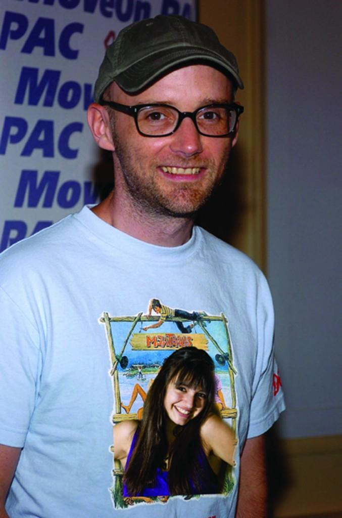 Moby is a great guy to have a drink with any day but Friday. (Photo Illustration by Sara Azoulay/The Observer)