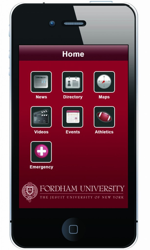Fordham Goes Mobile With App