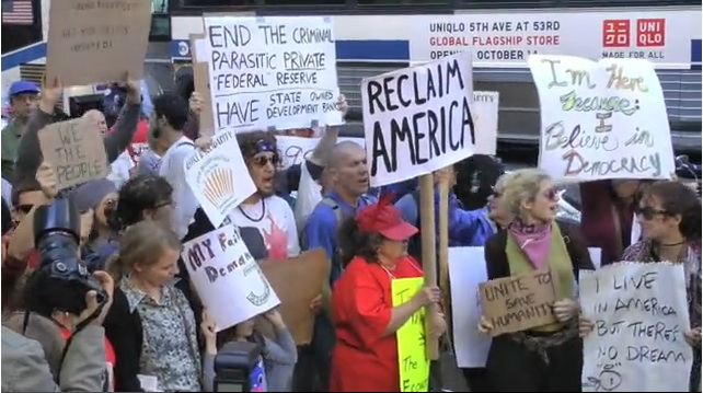 Occupy Wall Street Protests (VIDEO)
