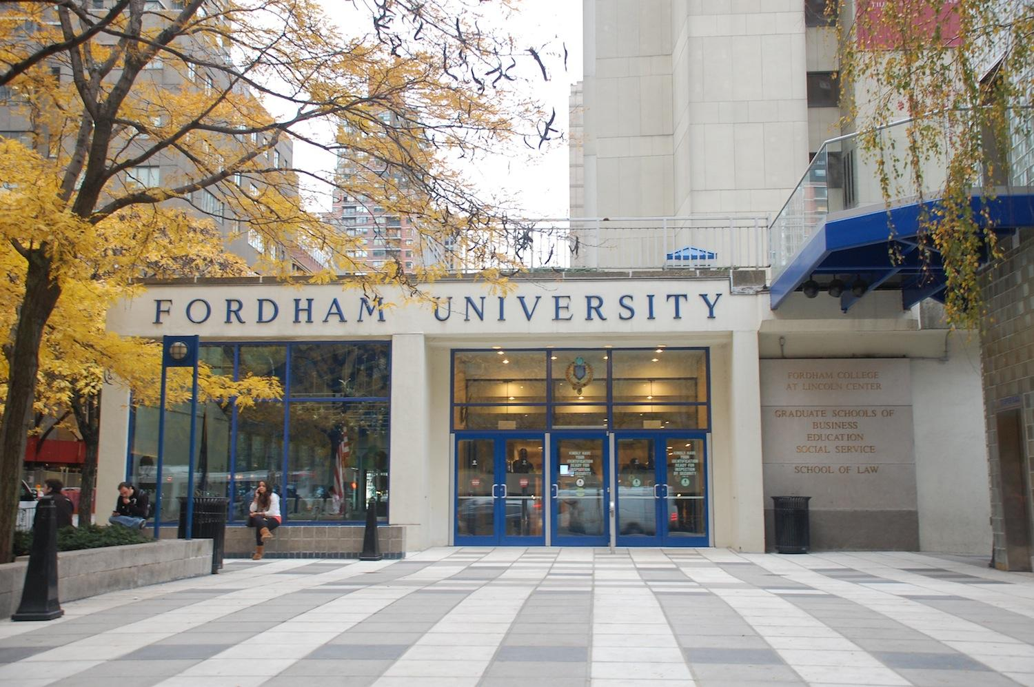 Fordham Sees Increase in Population of International Students