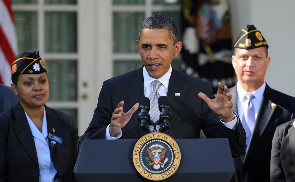 Obama's recent announcement to forgive student loans may sound like a good idea, but students shouldn't be drowning in debt to begin with.  (Olivier Douliery/Abaca Press/MCT)