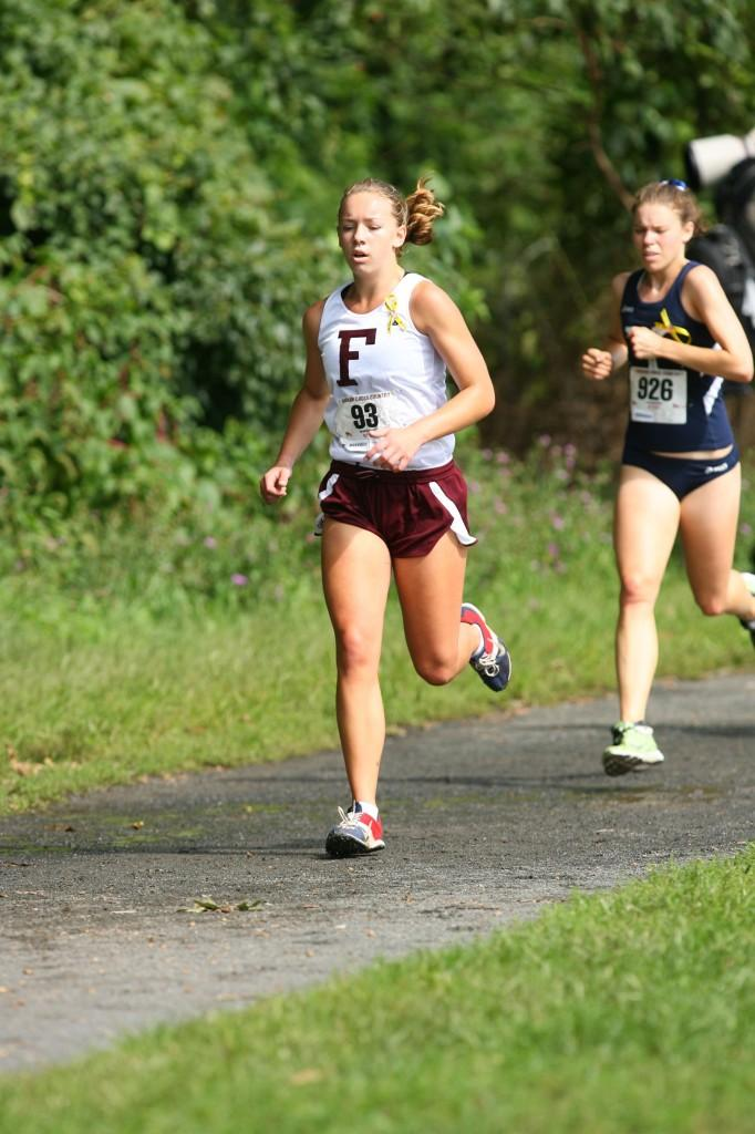 Glockenmeier has established herself as one of Fordham's top runners. (Courtesy of Fordham sports)