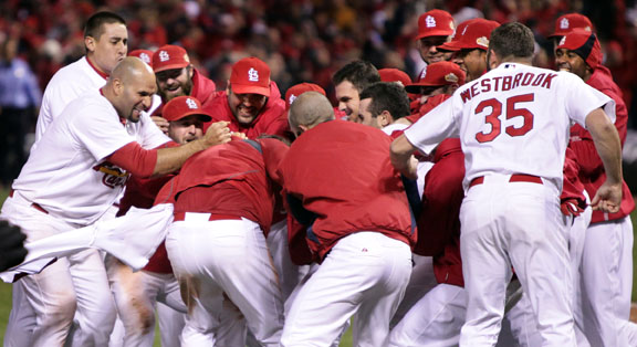 Flying High: Cardinals Capture World Series Championship