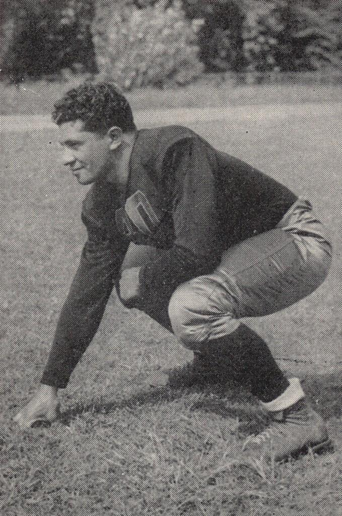 Vince Lombardi also left his mark on Fordham athletics. (Courtesy of Fordham Sports)
