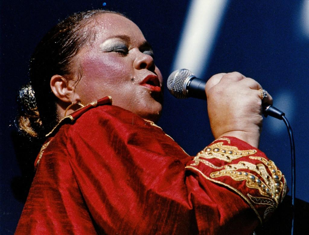 With her unique look and soulful voice, Etta James is considered one of the most influential female singers of the 20th Century. (Los Angeles Times/MCT))