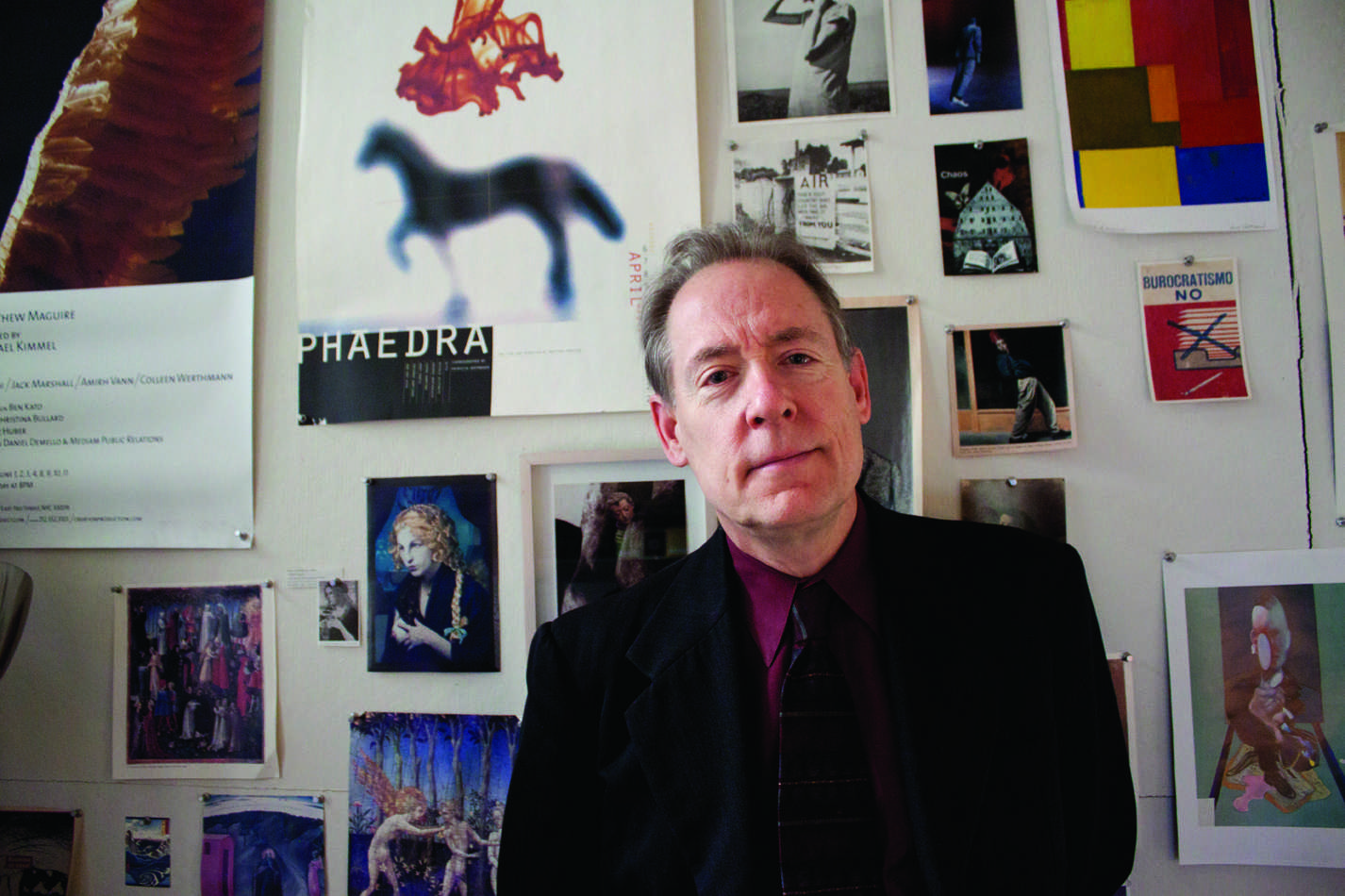 "Matthew Maguire is director of Fordham's theater program and the independent Creation Production Company. His show ""Instinct"" is  currently playing off-Broadway and closes Feb. 4. The show's director and one of the lead actresses are both members of the Fordham  community. He hopes to turn ""Instinct"" into a pilot for a TV series. His next project is a solo performance called ""Wild Man: Adventures in Rome."" (Sara Azoulay/The Observer)"