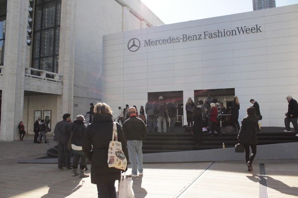 New York Citys Fall Fashion Week kicks off on Feb. 9 at the tents at Lincoln Center. (Sara Azoulay/The Observer)