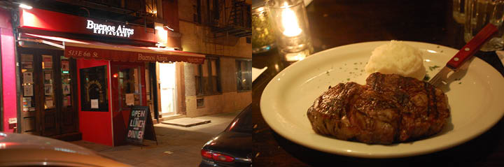 Buenos Aires Restaurant offers higher-end Argentinean fare. (Katrine Alcantara/The Observer)