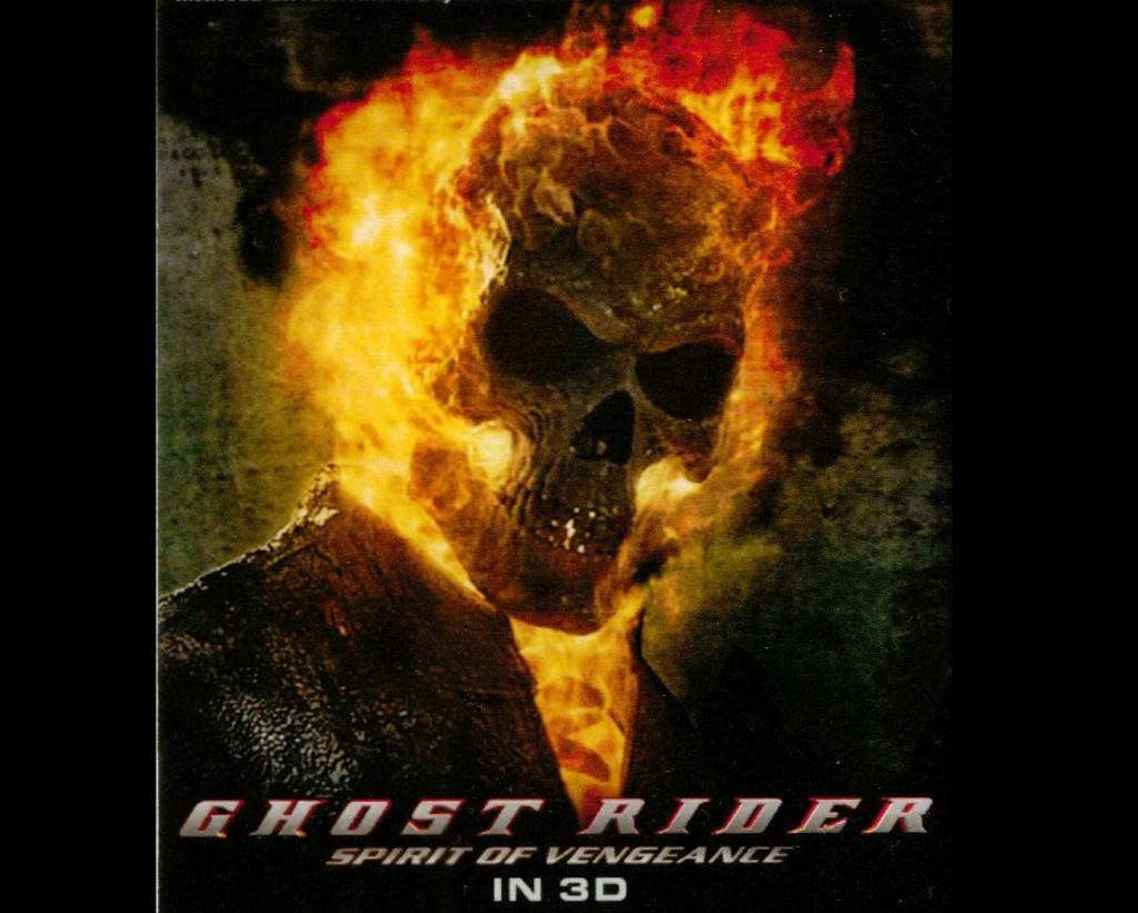 Ghost Rider, starring Nicolas Cage, is in theaters now. (Courtesy of Columbia Pictures)