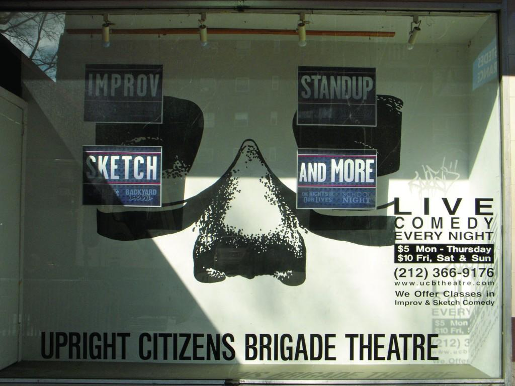 Upright Citizens Brigade (Harry Huggins/The Observer)