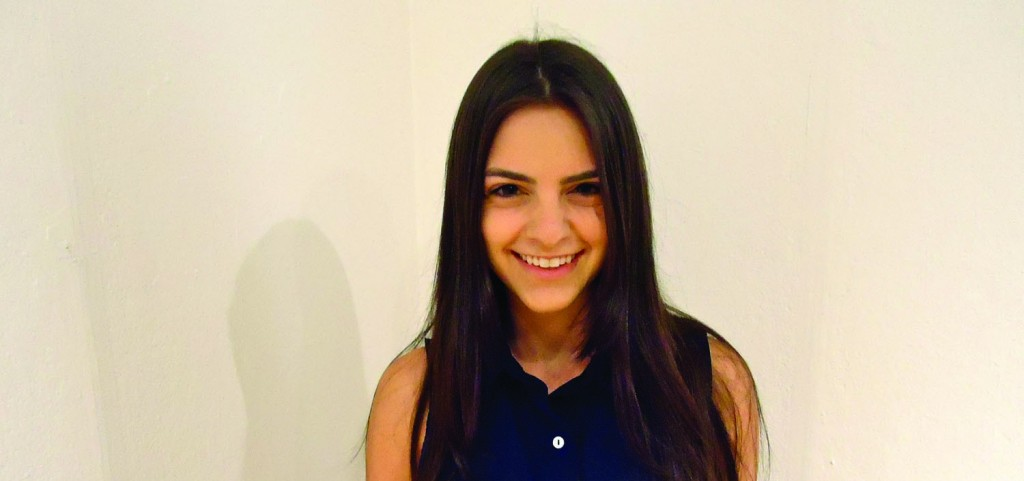 """Sara Kapner, FCLC '12, acted in """"A Little Help,"""" an independent film.  (Katherine Fotinos/The Observer)"""