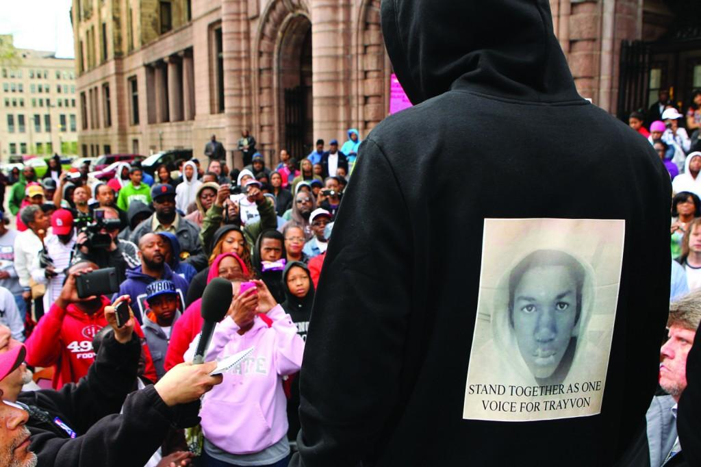 Martin's death has sparked national outcry, and protests have sprung up across the country in response. (Johnny Andrews/St. Louis Post-Dispatch/MCT)
