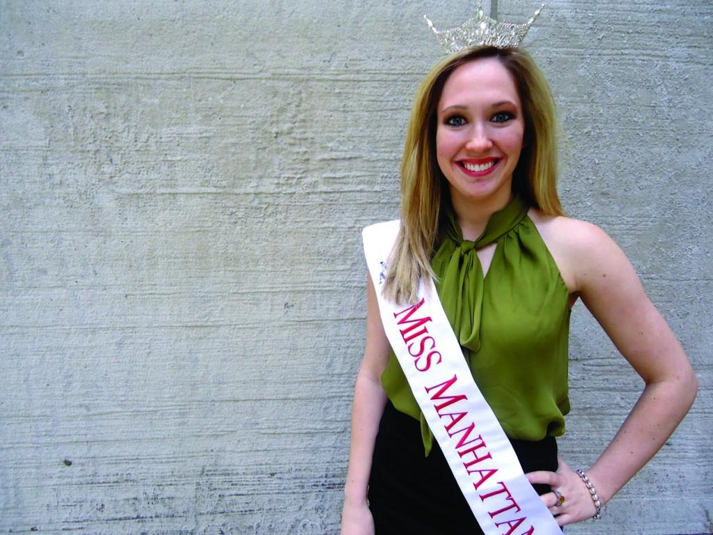 Kathryn Berry, FCLC '11, won the 2012 Miss Manhattan competition and continues to compete in pageants. (Katherine Fotinos/The Observer)