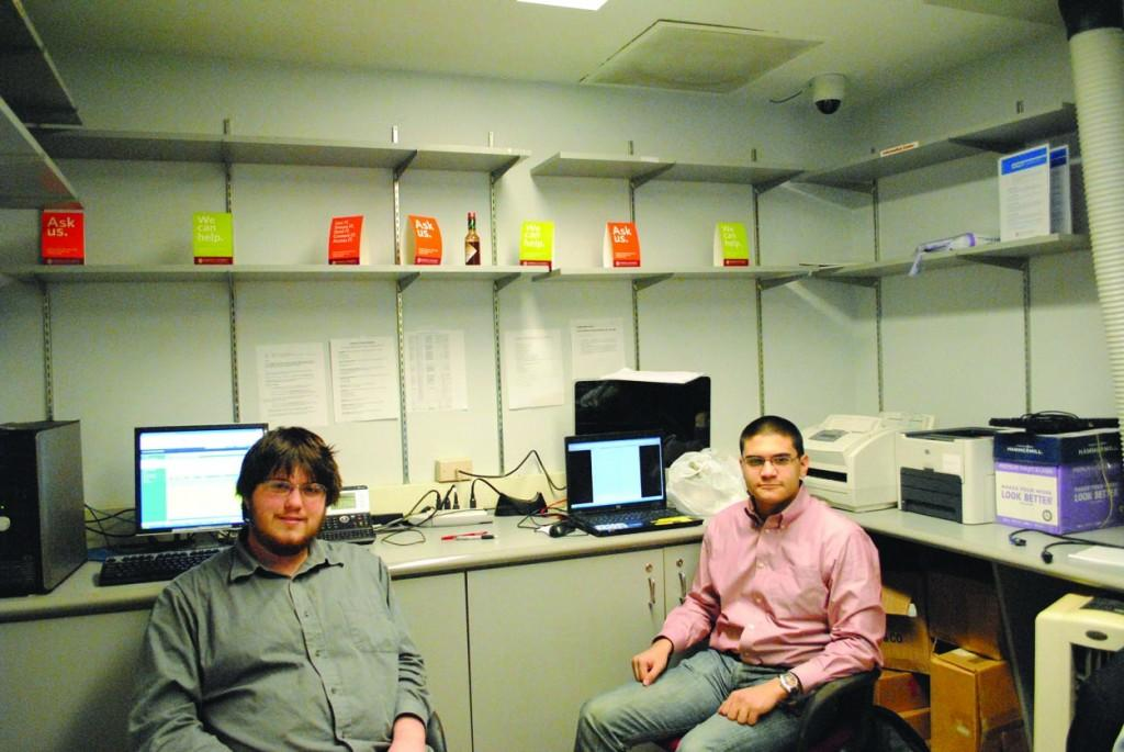 Fordham's Information Technology team in SL 19A is working on upgrading the University website, which hasn't been updated since 2006. (Charlie Puente/The Observer)