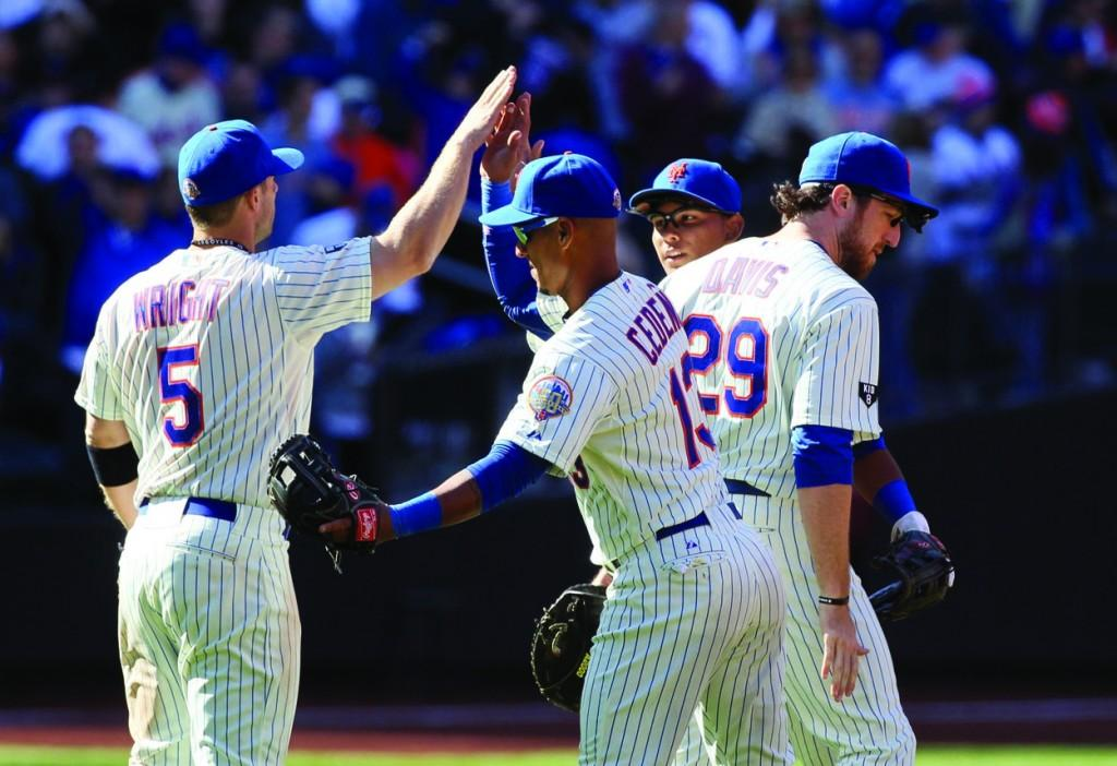 The Mets are 7-3 on the young season and are just a half game out of the division lead. (David Pokress/Newsday/MCT)