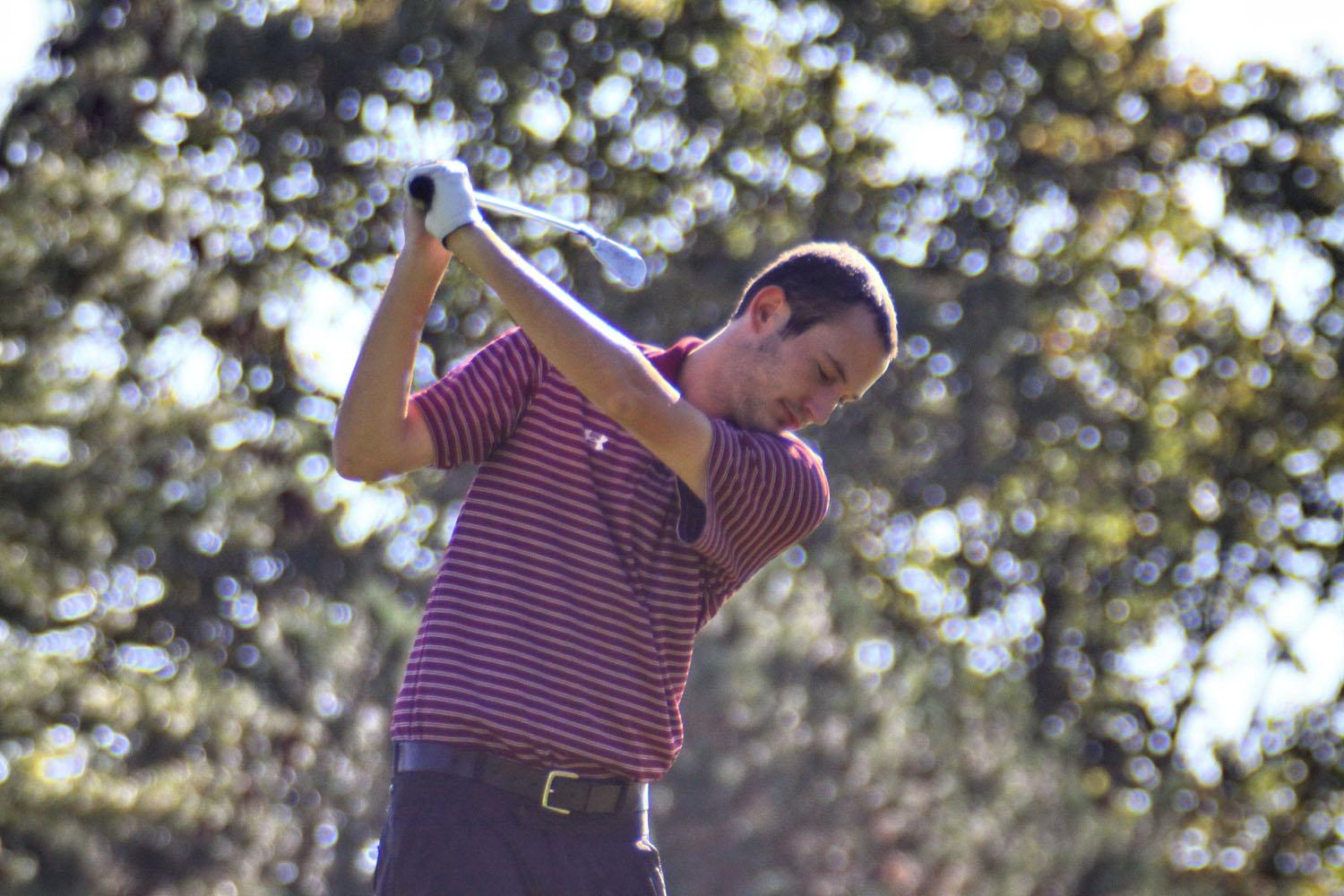 Fordham golfer Jason Del Rosso, FCRH '13, has been an integral part of the golf team.   (Courtesy of Fordham Sports)
