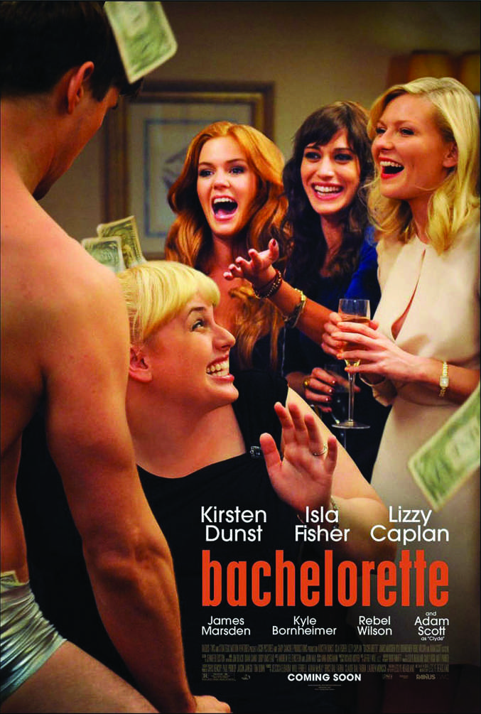 """Things go wrong and chaos ensues the night before the wedding in Leslye Headland's """"Bachelorette."""" (Courtesy of Gary Sanchez Productions)"""