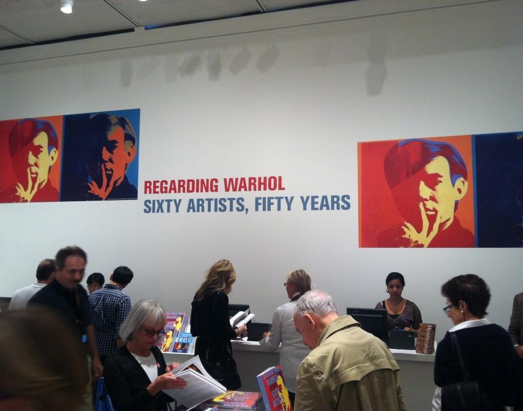 """Regarding Warhol: Sixty Artists, Fifty Years"" runs now through Dec. 31. (Ludovica Martella/The Observer)"