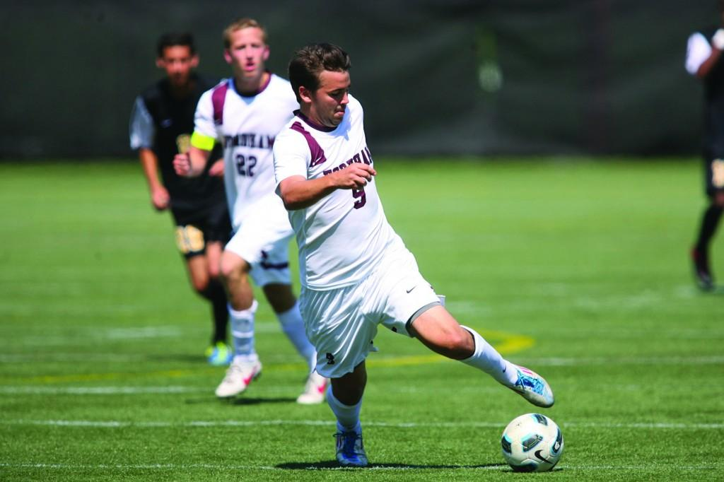 All-Tournament sophomore Kalle Sotka, FCRH '15, has been an intergal part of the team's success. (Courtesy of Fordham Sports)
