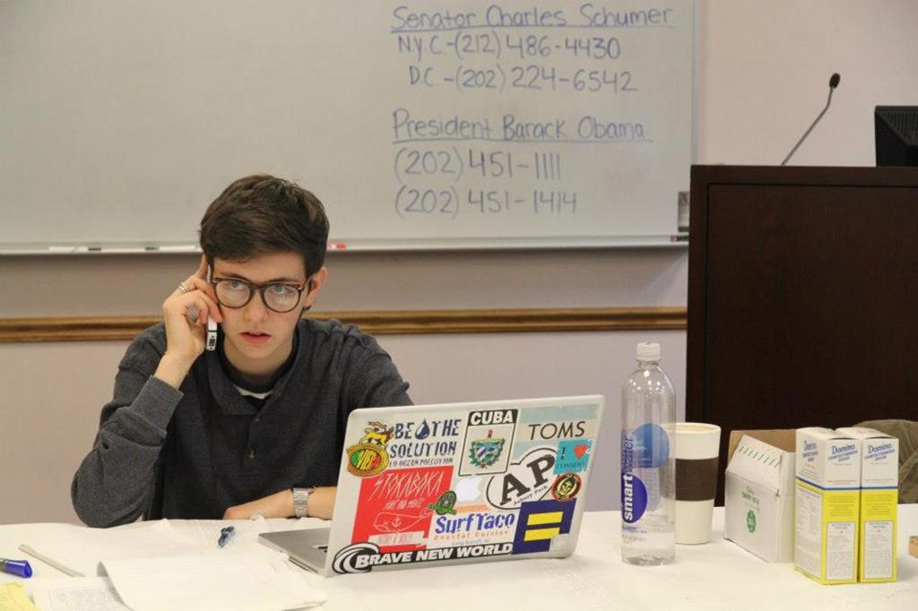Students Organize Hurricane Relief