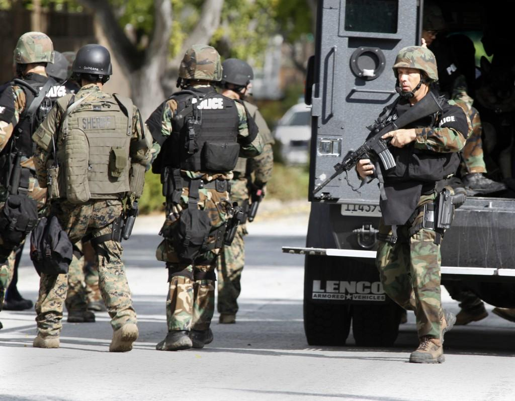 Though once dispatched to protect citizens,  stories of police officers and SWAT teams killing innocent victims are making headlines. (Karen T. Borchers/San Jose Mercury News/MCT)