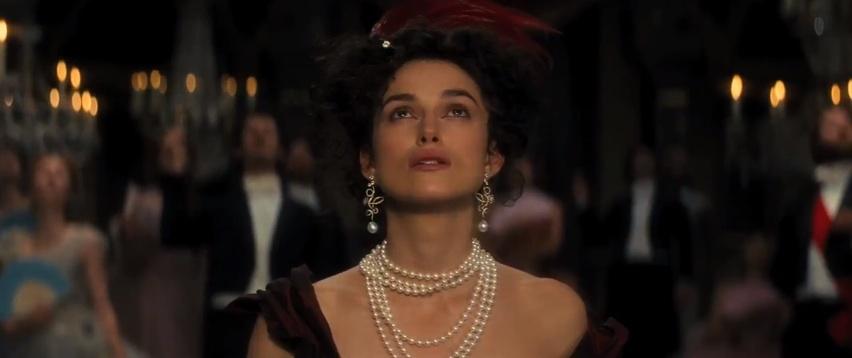 Keira Knightley plays the famed literary character, Anna Karenina, in Joe Wright's imaginative cinematic adaptation of Leo Tolstoy's novel. (Trailers/YouTube.com)