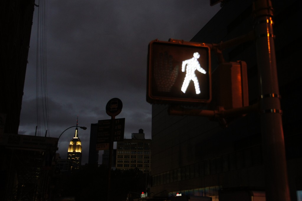 Let There Be Light: The Observer Heads to Union Square Post-Hurricane Sandy