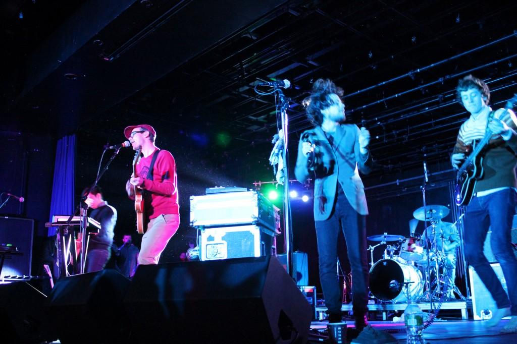 Hellogoodbye perform at CABs first Winterfest. (Ayer Chan/The Observer)