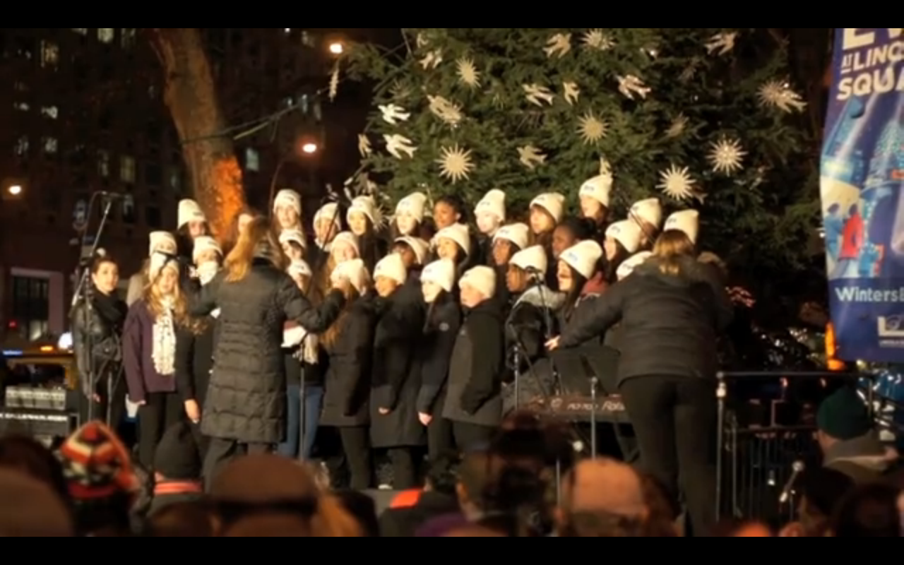 Lincoln Square's 13th Annual Winter's Eve Festival Attracts Hundreds to Begin the Holiday Season
