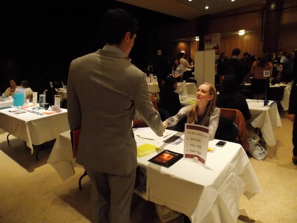 Students Weigh In On FCLC Career Fair
