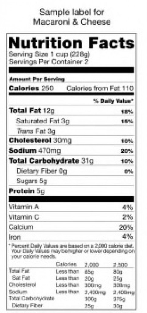 Calories on any label, including those on restaurant menus, can be deceptive. (Trounce/ Wikimedia Commons)