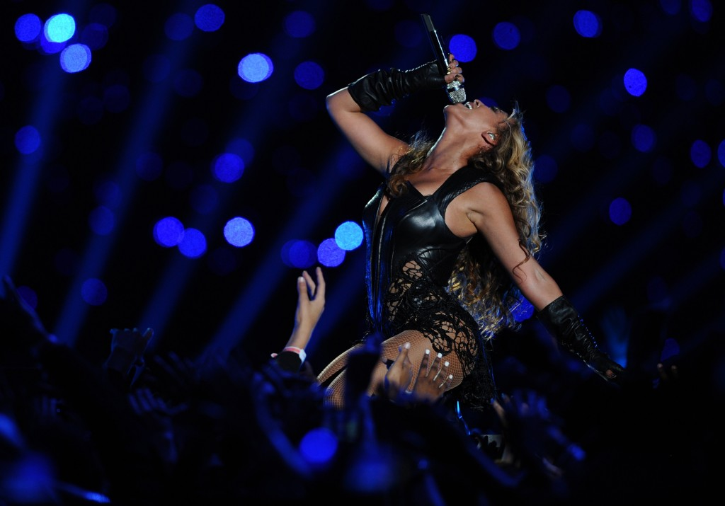 Beyonce might have run the halftime show of the Superbowl this year, but is she an icon?   (Lionel Hahn/Abaca Press/MCT)