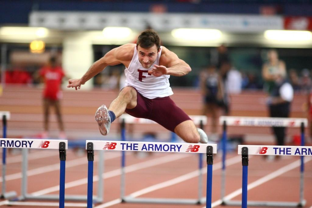 Sam+Houston%2C+FCRH+%E2%80%9914%2C+earned+Second+Team+All-Atlantic+10+honors+with+his+second-place+finish+in+the+heptathlon.+%28Courtesy+of+Fordham+Sports%29