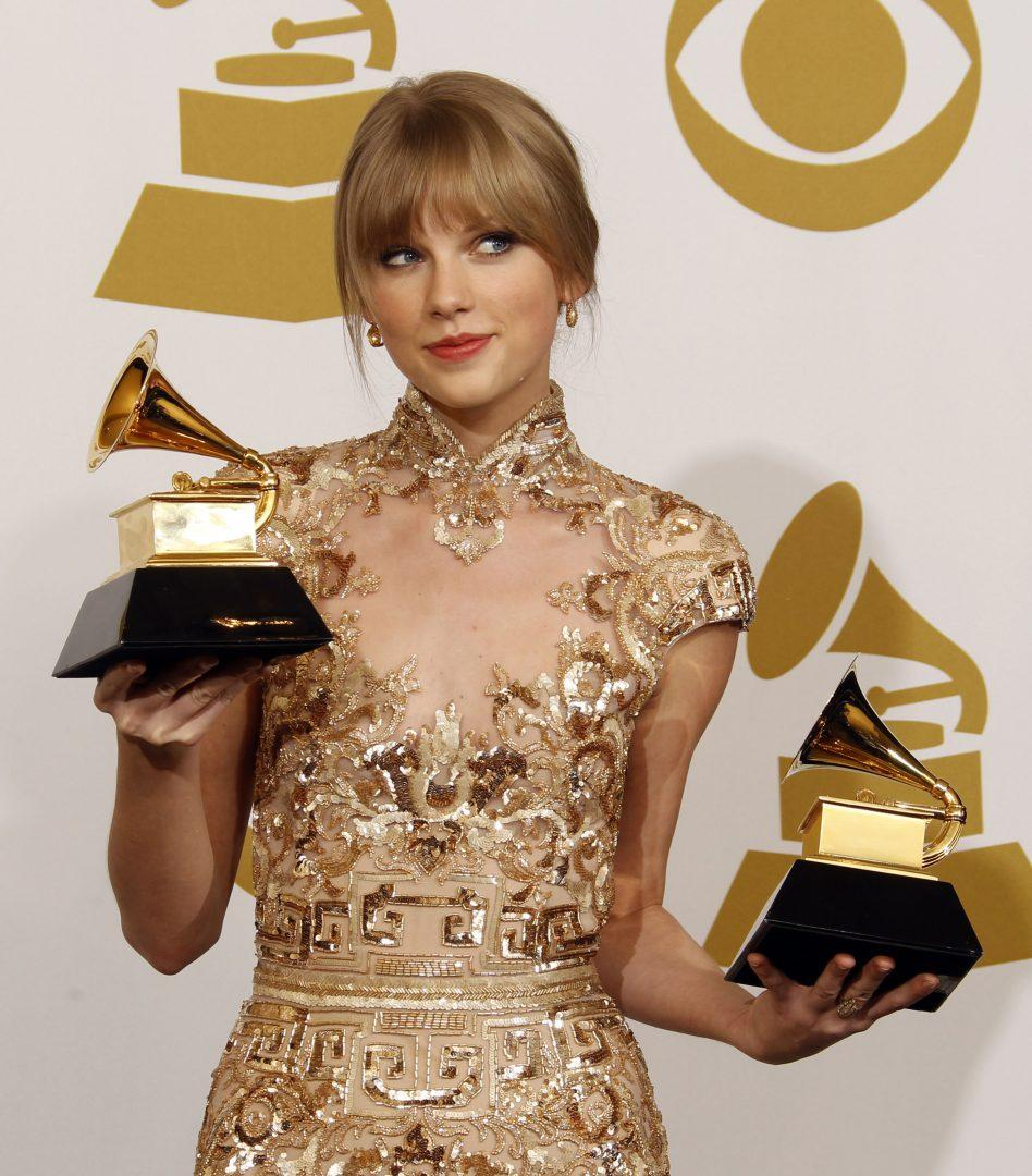 Taylor Swift at the Grammy Awards on Feb. 12, 2012.  (Allen J. Schaben/Los Angeles Times/MCT)