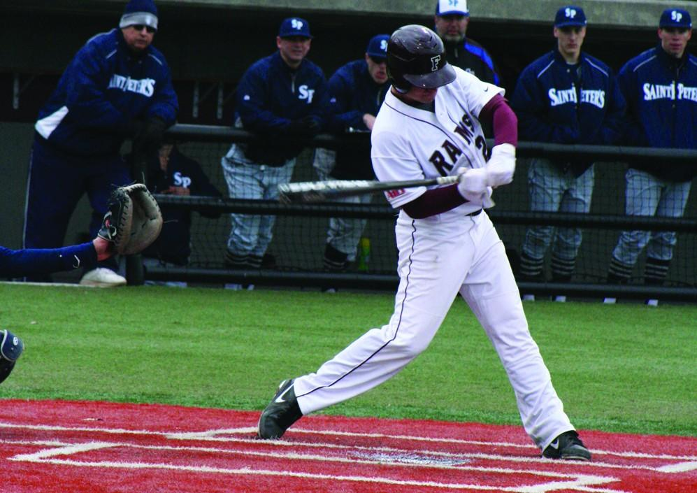 Infielder Mike Mauri, FCRH '13, looks to follow up his junior campaign, during which he hit .325 for the Rams. (Courtesy of Fordham Sports)