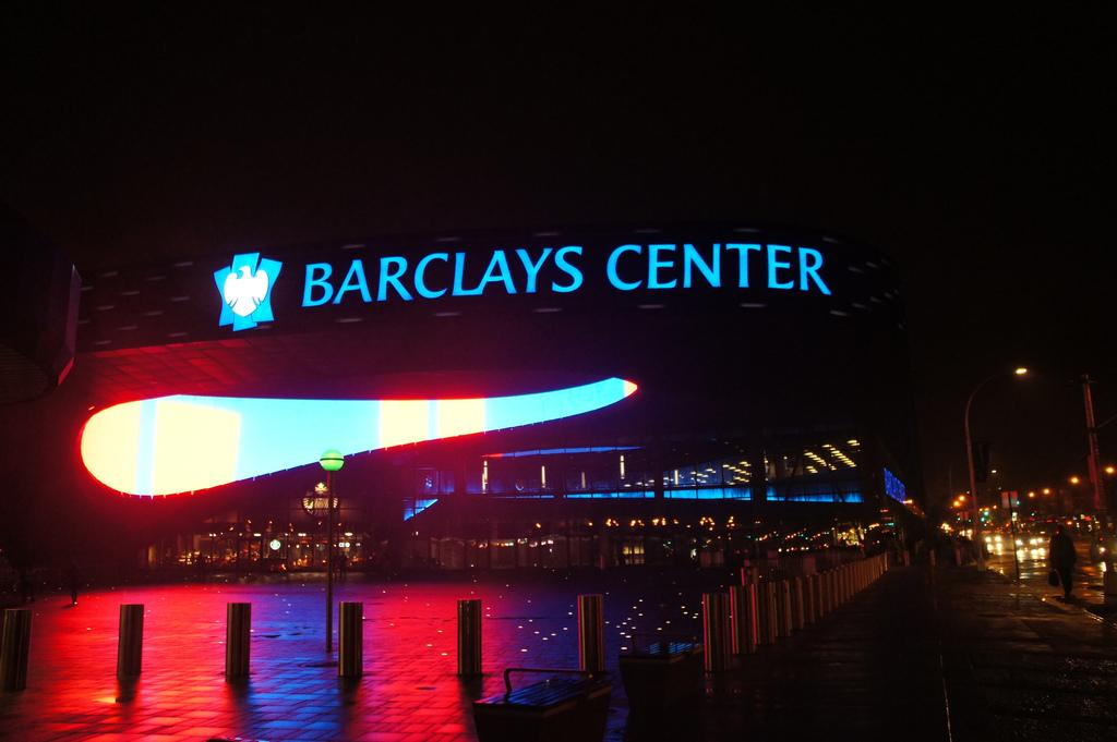 Barclays Center in Brooklyn, New York. (Tavy Wu/ The Observer)