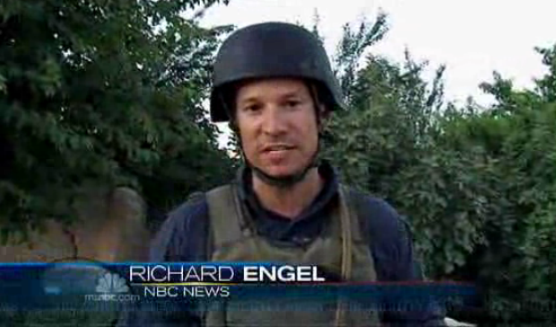 Richard Engel in Afghanistan, from a report on June 13, 2010 for