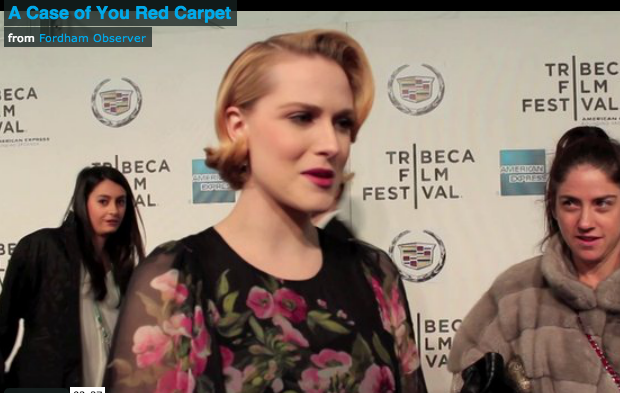 Observer Coverage at the Premiere of 'A Case of You' at the Tribeca Film Festival