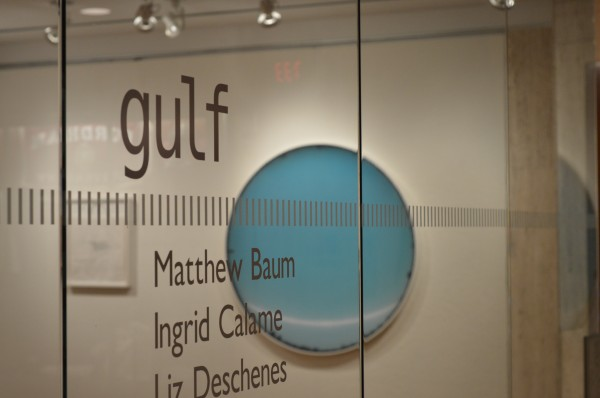 """A look at GULF, FCLC's newest Central Gallery exhibition, featuring """"Contingente"""" and """"Untitled."""