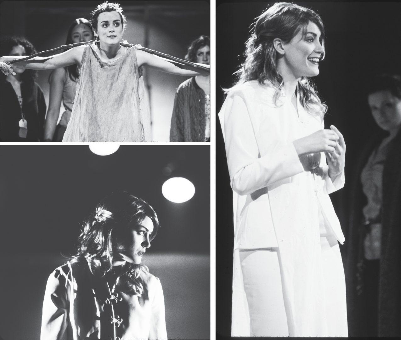 "Taylor Schilling stars as Helen of Troy in Fordham's main stage production of Euripede's ""The Trojan Woman."" (Photos Courtesy of Gerry Goodstein/Fordham Theater Program)"