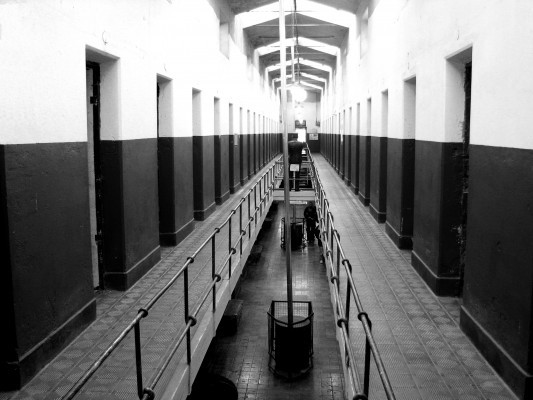 An empty prison in 2007. LUI ARGERICH/WIKIPEDIA COMMONS