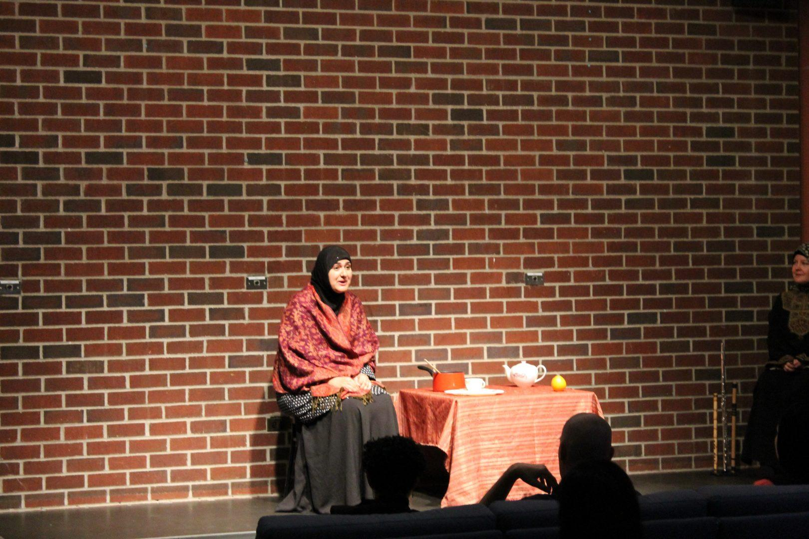"Rohina Malik Performs the One-Woman Play ""Unveiled"""