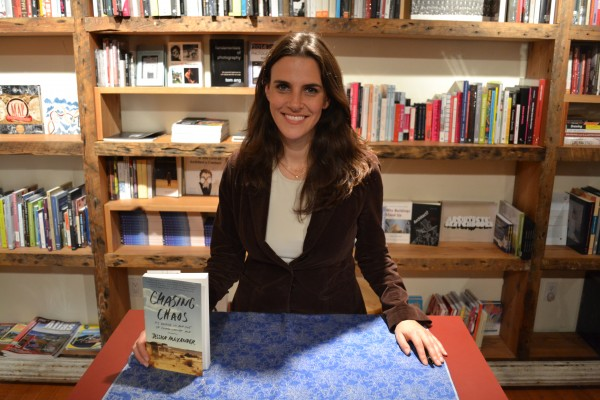 Jessica Alexander at her book signing on October 18th in Brooklyn (Angela Luis/The Observer)