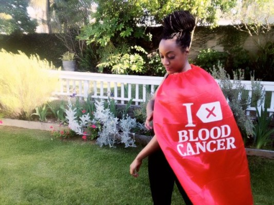 Tamera Walker, a donor at Delete Blood Cancer (photo courtesy of Delete Blood Cancer)