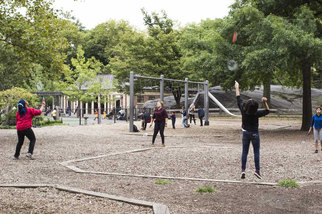 Four Exercises Based in Central Park This Fall